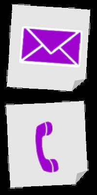 Ein Telefonhörer und ein Brief
