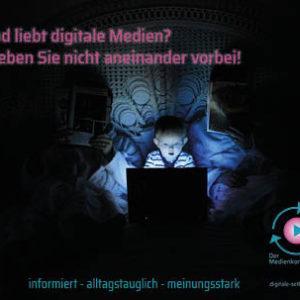 Postkarte: Digitale Medien